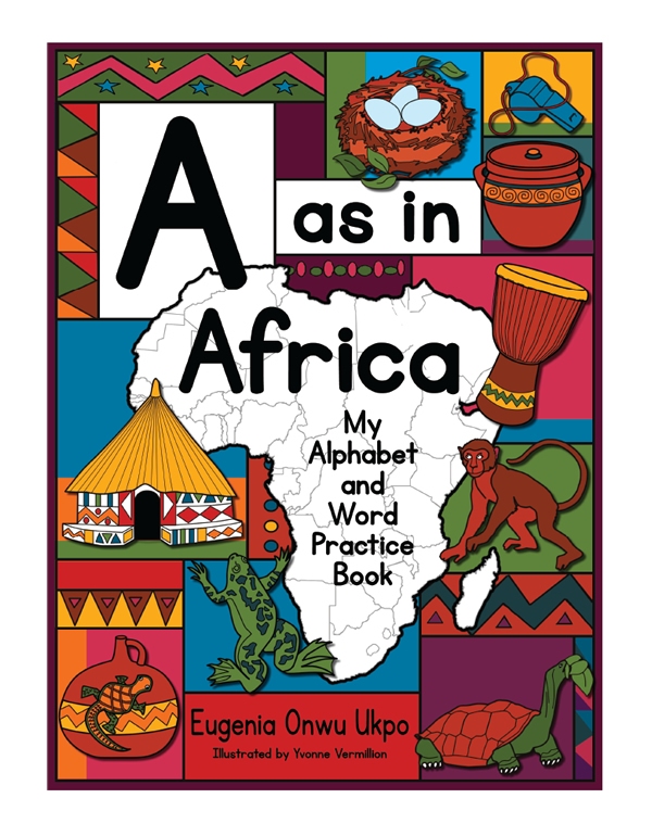Children's Book Cover Design for A as in Africa