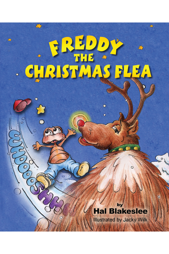 Children's Book Design - Freddy the Christmas Flea