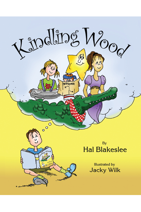 Children's Book Design - Kindling Wood