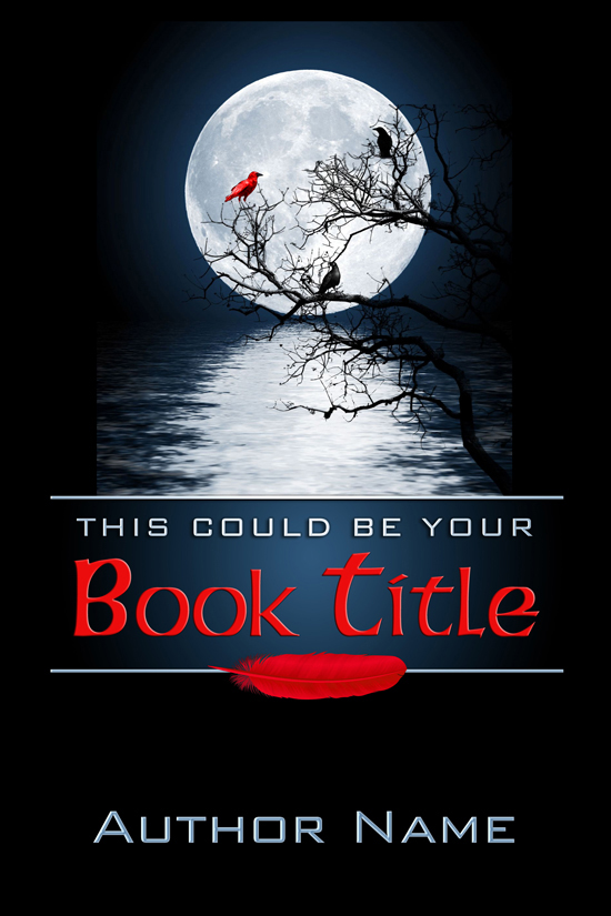 Mystery, Horror, Occult Book Cover Design