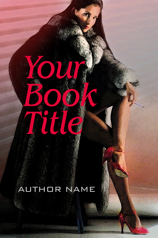 Adult Novel, Romance Book Cover Design