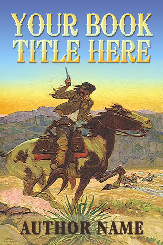 Western, Historcial, Cowboy Novel Book Cover Design