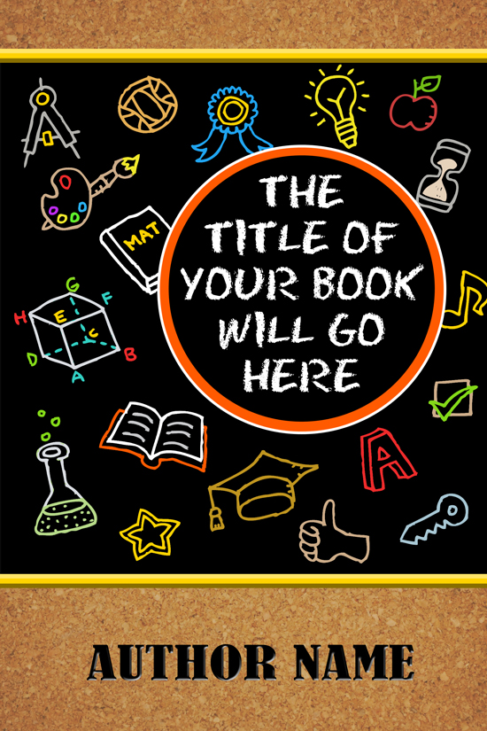 Educational, Humor, Teacher Memoir Book Cover Design