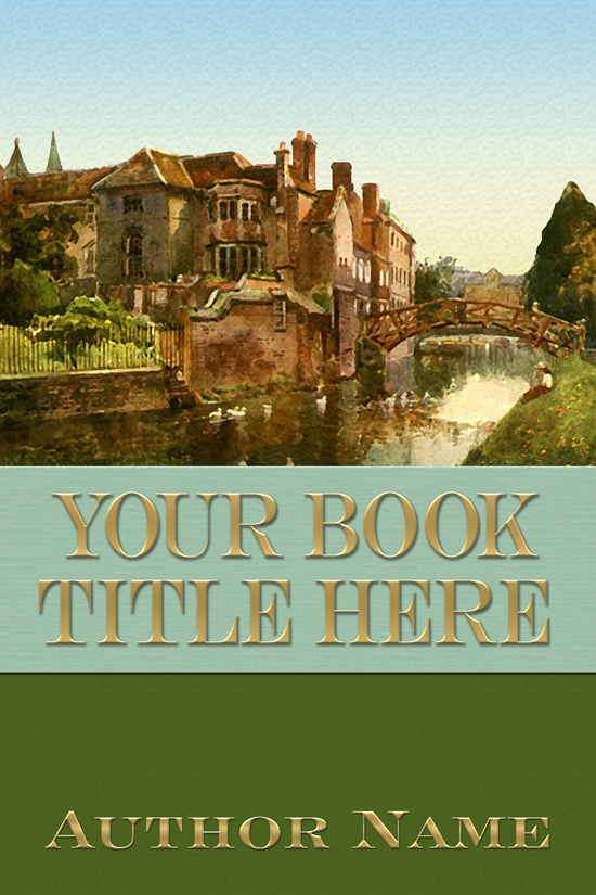 Mystery, Historical Fiction Book Cover Design