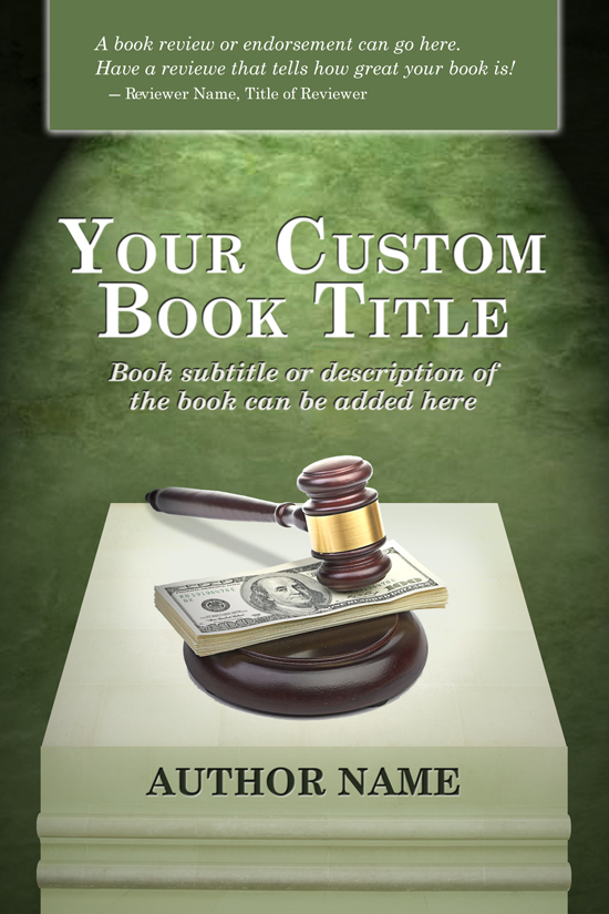 Legal, Financial, Educational, Textbook Cover Design