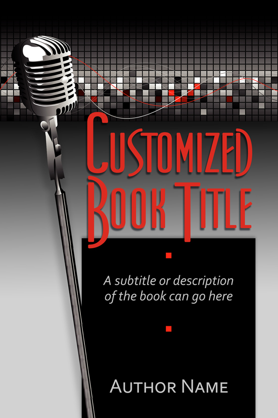 Musician Biography, Music Education Book Cover Design