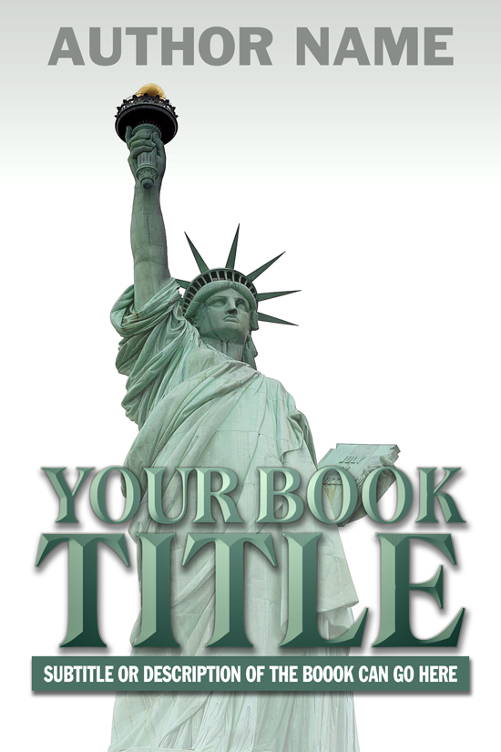 Political, Patriotic, Historical Book Cover Design
