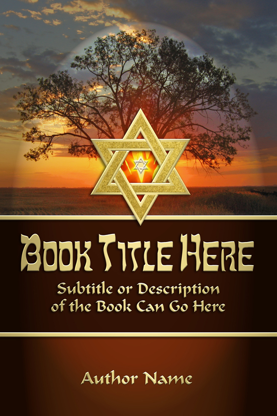 Religious, Theology, Jewish Doctrine Book Cover Design