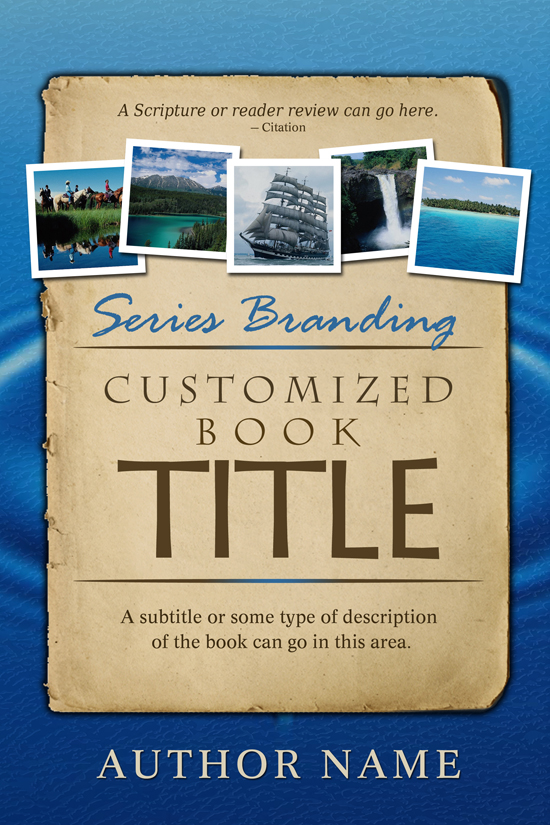 Travel Guide, Historical, Series Book Cover Design