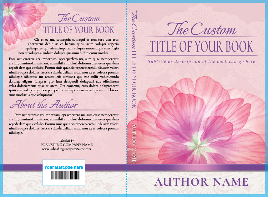 Sample of a well designed complete book cover