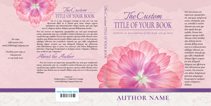 Sample of a well designed book jacket