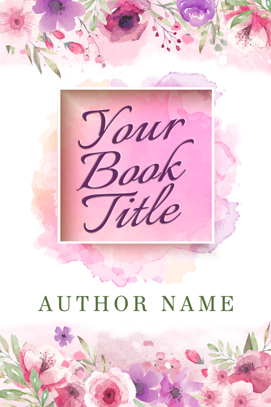 Memoir, Uplifting, Poetry Book Cover Design