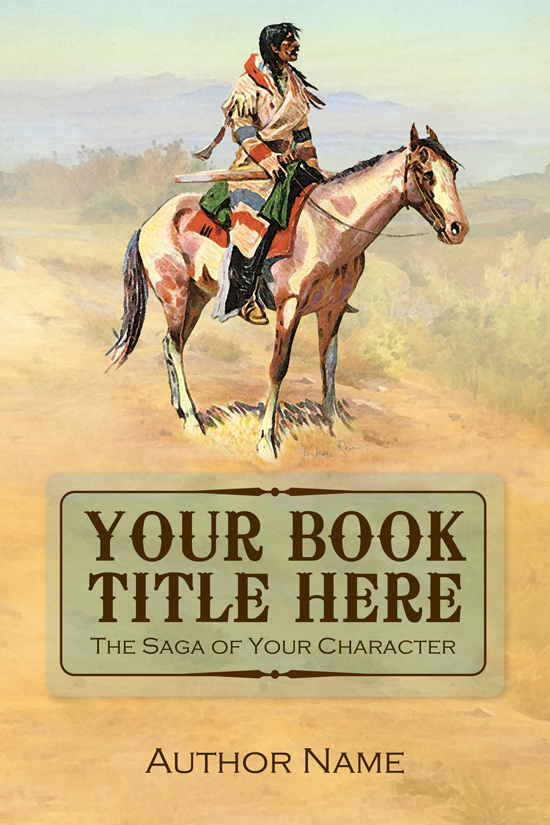 Western, Historical, Fiction Book Cover Design