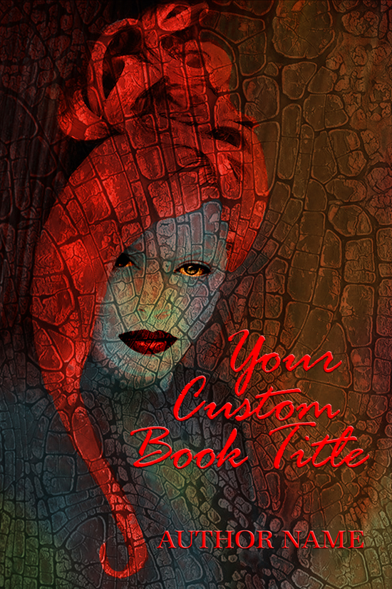 Book cover design for a Adult Novel, Mystery, Horror, Occult book