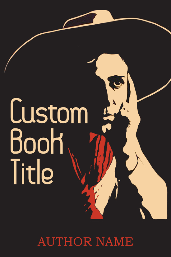 Historical Memoir, Western Book Cover Design