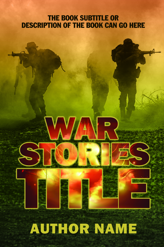 Military, War, or Combat Book Cover