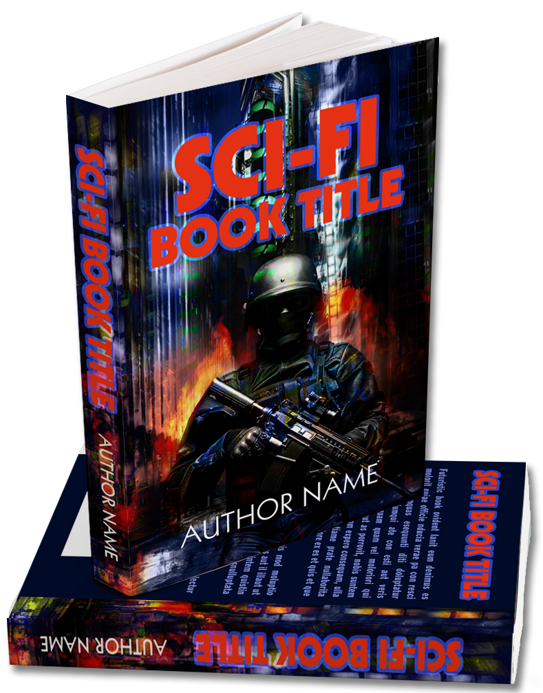 A Premade cover for a Science Fiction book