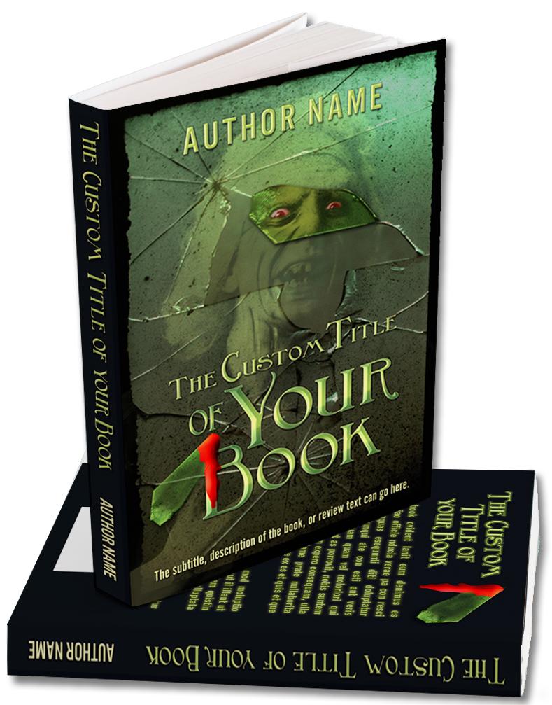 Premade cover for a Horror, Occult, or Apocalypse book