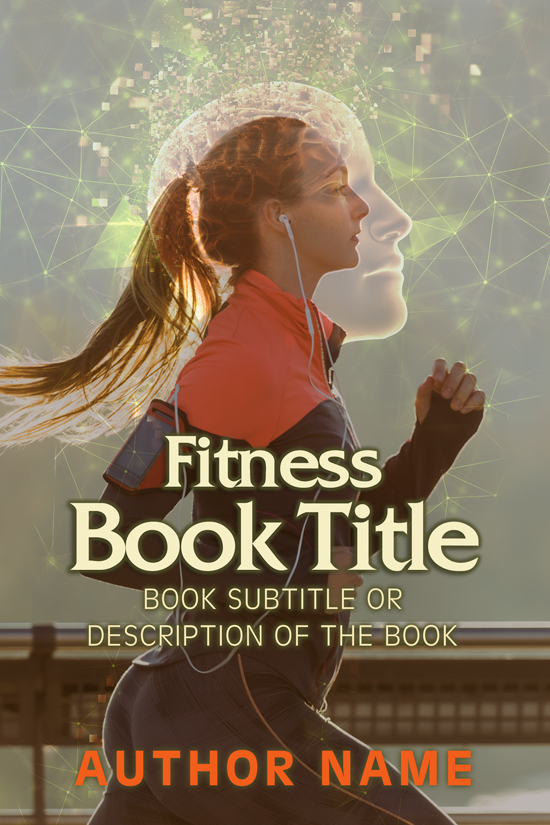 Fitness and Exercise Book Cover Designs