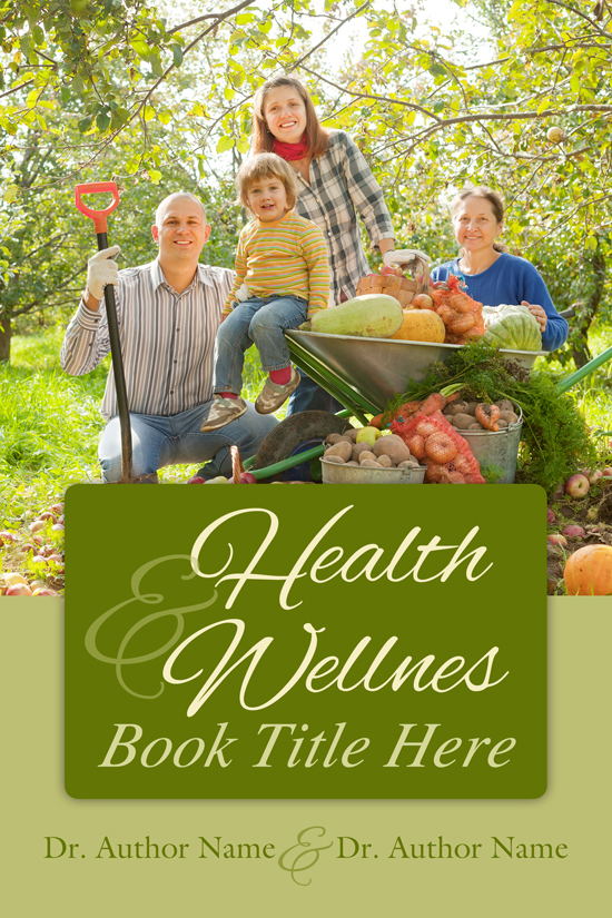 Family Health & Wellness Book Cover Design