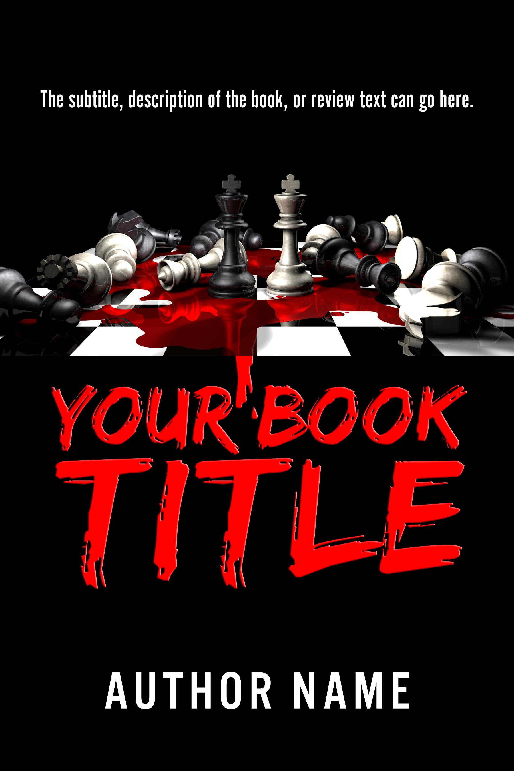 Horror, Murder Mystery Book Cover Design