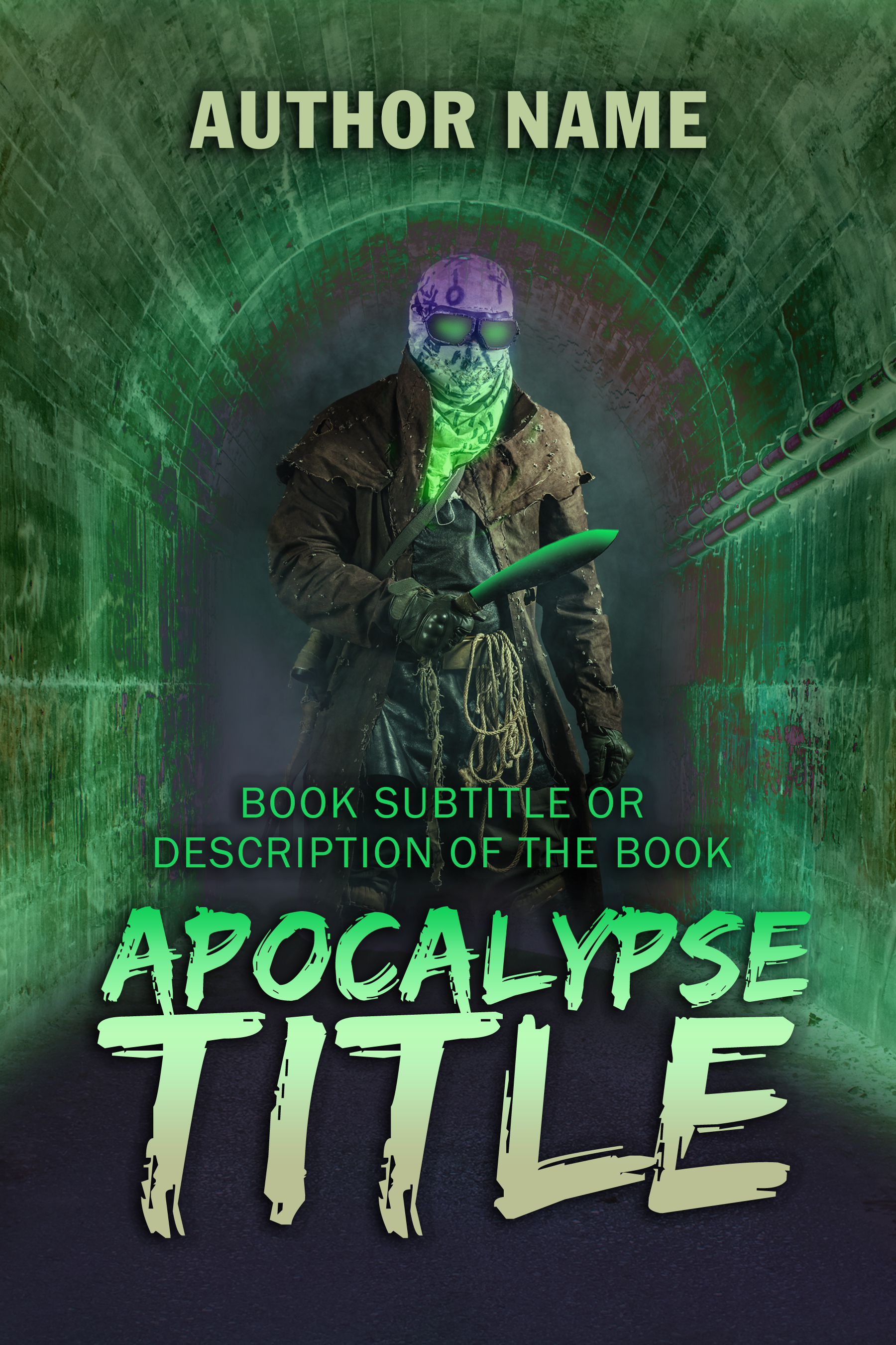Horror, Science Fiction, Apocalypse Book Cover