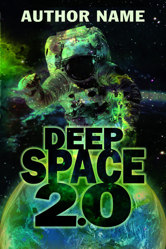Science Fiction, Outer Space Book Cover Design